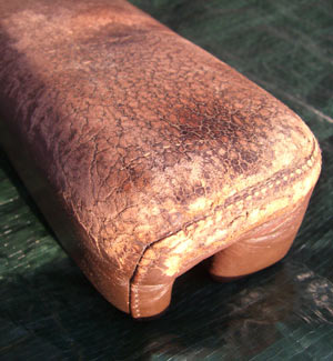 Leather Arm Rest Before
