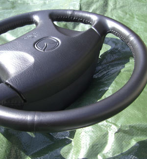 Steering Wheel Damage After