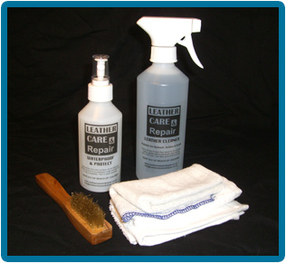 Leather Clean & Stain Protect Kit