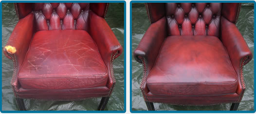 Chesterfield Leather Restoration